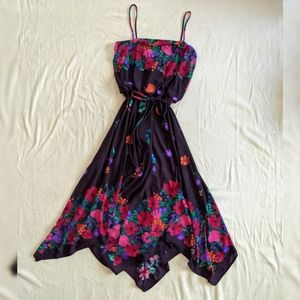 Vintage Hanky Hem Dress